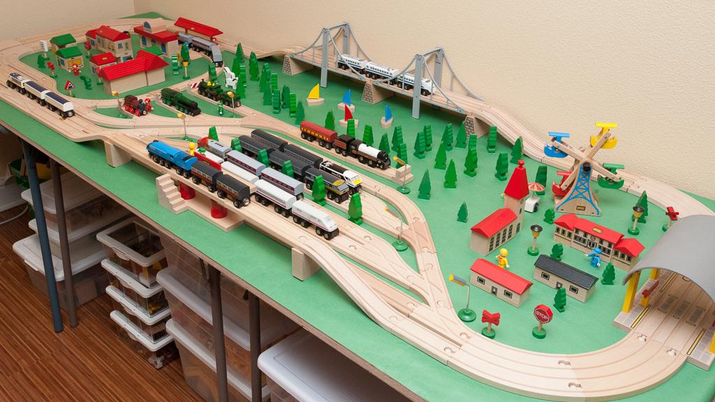 Train Tables Brio Wooden Railway Guide